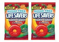 Life Savers Sugar Free Hard Candies 2 Bag Pack