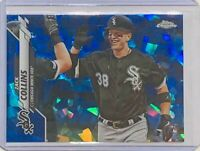 ZACH COLLINS ROOKIE 2020 TOPPS CHROME SAPPHIRE REFRACTOR #208 CHICAGO WHITE SOX