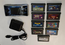Nintendo/Game Boy/Micro/Blue black/Gameboy/9 Games/OXY-001/USA/2005/ W/ Charger