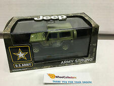 U.S. Army Jeep Wrangler Hard Top * LIGHT Green * Greenlight 1:43 Scale * W