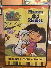 Dora the Explorer - Rhymes and Riddles (DVD, 2003)