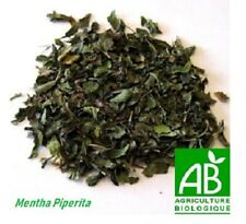 Menthe poivrée / Pepper mint / Pfefferminze ,feuille séchée , tisane , Bio , 84g