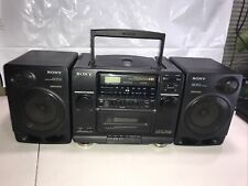 Sony Boombox Cfd-510 Cd/Radio/Tape Player Not Working Excellent Sound!