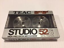 NEW TEAC  STUDIO 52S METAL Reel Position Audio Recording TAPE MADE IN JAPAN