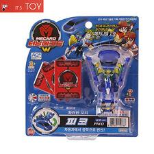 Turning Mecard W PIKO Blue ver. Peacock Bird Transformer Robot Car Toy Sonokong