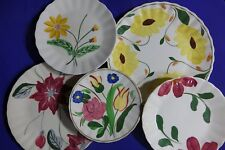 6 PC LOT Mixed BLUE RIDGE POTTERY CHINA 5 PLATES 1 Saucer COLONIAL FLUTED EDGE