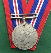 "100% GENUINE WW2 - War Medal ""SUPERB USED CONDITION""- World War 2 - Full Size"