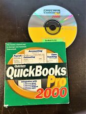 QuickBooks Pro CD 2000 for Windows with  Product Key Code