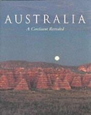 Australia : A Continent Revealed by Neil Hermes (1984 Hardcover) Acceptable Cond