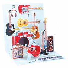 Pop-Up Greeting Card Trearures by Popshots Studios - Guitars