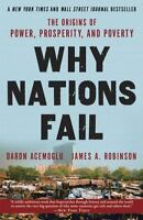 Why Nations Fail: The Origins Of Power, Prosperity, And Poverty: By Daron Ace...