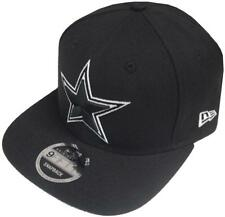 New Era NFL DALLAS COWBOYS BLANC NOIR LOGO Casquette Snapback 9FIFTY