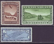 Newfoundland 1931 SC C6-C8 MH Set Trans-Atlantic Flights