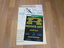 Stephanie COLE in Noises Off Comedy Original SAVOY Theatre Poster