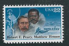 Scott #2223....22 Cent...Arctic Explorers/Perry & Henson.....10 Stamps MNH