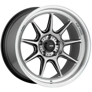 "Konig 105M Countergram 18x8.5 5x120 +35mm Hyper Chrome Wheel Rim 18"" Inch"
