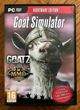 GOAT Simulator Nightmare Edition GOATZ MMO PC DVD ROM Game - New