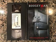 Boogey Man Vhs! 2005 Horror! The Guardian The Grudge They The Possession