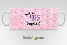 Just A Girl BOSS costruire il suo impero Tazza Tazza Tè Caffè Pink Hearts