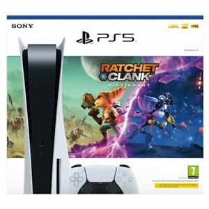 PlayStation 5 Disc Console Ratchet & Clank Rift Apart - Next Day Delivery 🚚