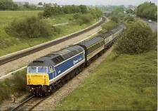 Diesel Class 47 47714 Patchway Tunnel Bristol 1989 postcard