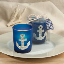 24 Anchor design candle favors Wedding Favors Party Favor Nautical Theme