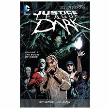 Justice League Dark - The Books of Magic Vol. 2 by Jeff Lemire and Peter Millig…