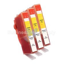 3 YELLOW 564 564XL New Ink Cartridge for HP PhotoSmart 4610 5510 5520 6510 6520