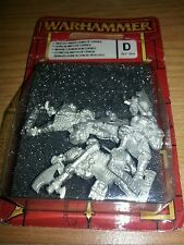 Warhammer High Elf White Lions of Chrace  sealed UK post inc pack slightly worn