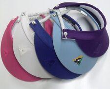 Lawn Bowls Australia Coil Visor Royal, Navy, White, Pink, Purple, Bottle, Maroon