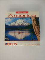 NEW Spirit Lake, Mount. St. Helens, Washington 1000 PC WEST COAST AMERICA Canoe