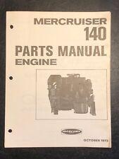 1973 Merc Mercury 140 Marine Engine Parts Manual List Catalog