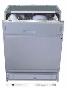 Geschirrspüler 60cm vollintegriert Spülmaschine mit Aquastop einbau unterbau NEU