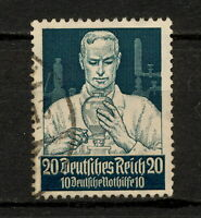 (YYAW 297) Germany 1934 USED Mich 562 Scott B65 SEMI Third Reich Nazi Chemist