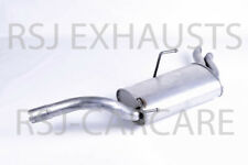 EXHAUST SILENCER FIAT SCUDO Combinato (220_) 2.0 JTD Diesel 2004-01-> 2006-12