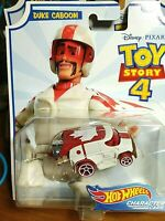 Hot Wheels Toy Story 4 Duke Caboom Diecast character car NEW