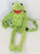 Disney Kermit The Frog Soft Plush Rucksack Backpack Novelty 3D Bag