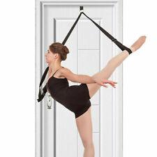 Training Leg Stretcher Strap Dance Yoga Pole Gym Belt Door Flexibility Stretch