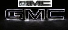 2019-2021 GMC Sierra Illuminated Front Grille Emblem 84741559 Black OEM GM Instk