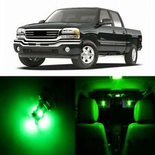 17 x Green LED Interior Light Package For 1999 - 2006 GMC Sierra + PRY TOOL