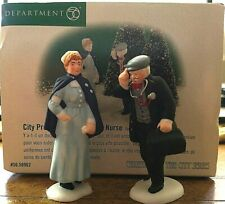 Dept 56~Christmas in the City Series~City Professions~Doctor & Nurse~#58962 Mib