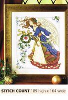 CHRISTMAS ANGEL   - CROSS STITCH PATTERN ONLY  ALS - U