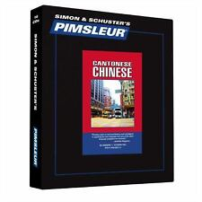 Pimsleur Learn CHINESE CANTONESE Language Level 1 CDs