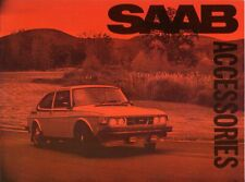 Saab 99 Accessories 1976 - USA Sales Brochure - Own Collection Great Condition
