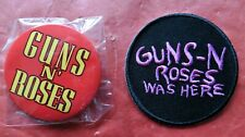 More details for guns 'n roses was here - iron on patch + 2