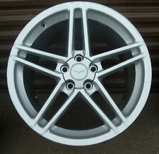 2005-2009 OEM Chevy Corvette ZO6 19' OEM Five Spoke Silver Wheel Rim