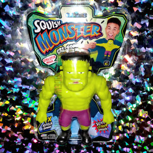 SQUISH MONSTER GRE-GORY FRANKENSTEIN stretch toy collectible classic horror rare