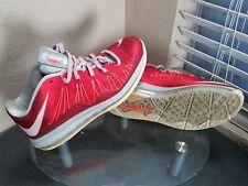 Nike Air Max Lebron X 10 Mens Size 10 Black / Gray / White Basketball Shoes