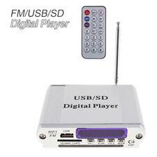 Car Home Power Amplifier Digital Audio Music Player Support FM/ MP3/ SD/ USB/DVD