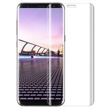 2X Curved Panzerfolie für Samsung Galaxy S8-Panzer Glas Folie 3D Full Cover Klar